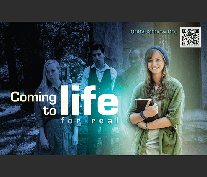 Student Discipleship Recruitment poster